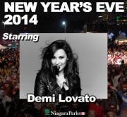 Demi Lovato, NYE Ad