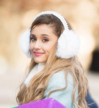 Ariana Grande In New York City For Tree Lighting