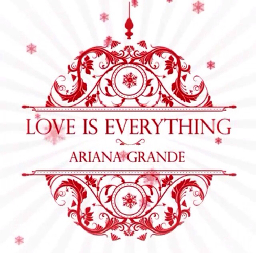 "Ariana Grande, ""Love Is Everything"" Cover"
