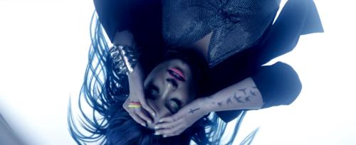 """Demi Lovato, """"Neon Lights"""" Still"""