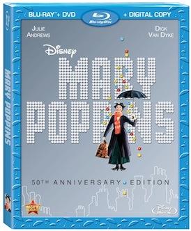 Mary Poppins 50 BD art
