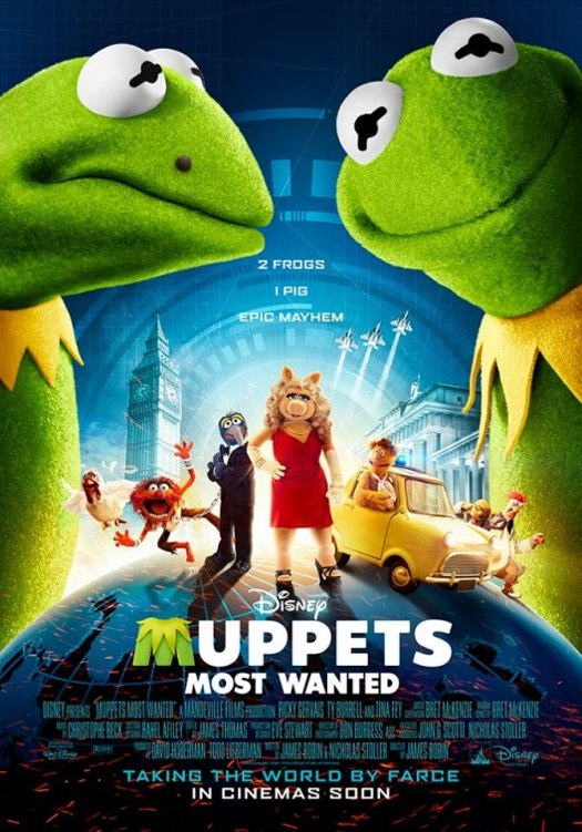 Disney's New Movie Poster For The Muppets Most Wanted ...