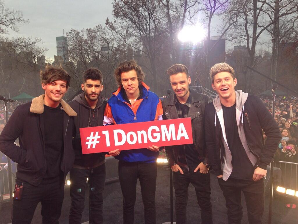 One Direction Interview On Good Morning America ... One Direction Laughing 2013