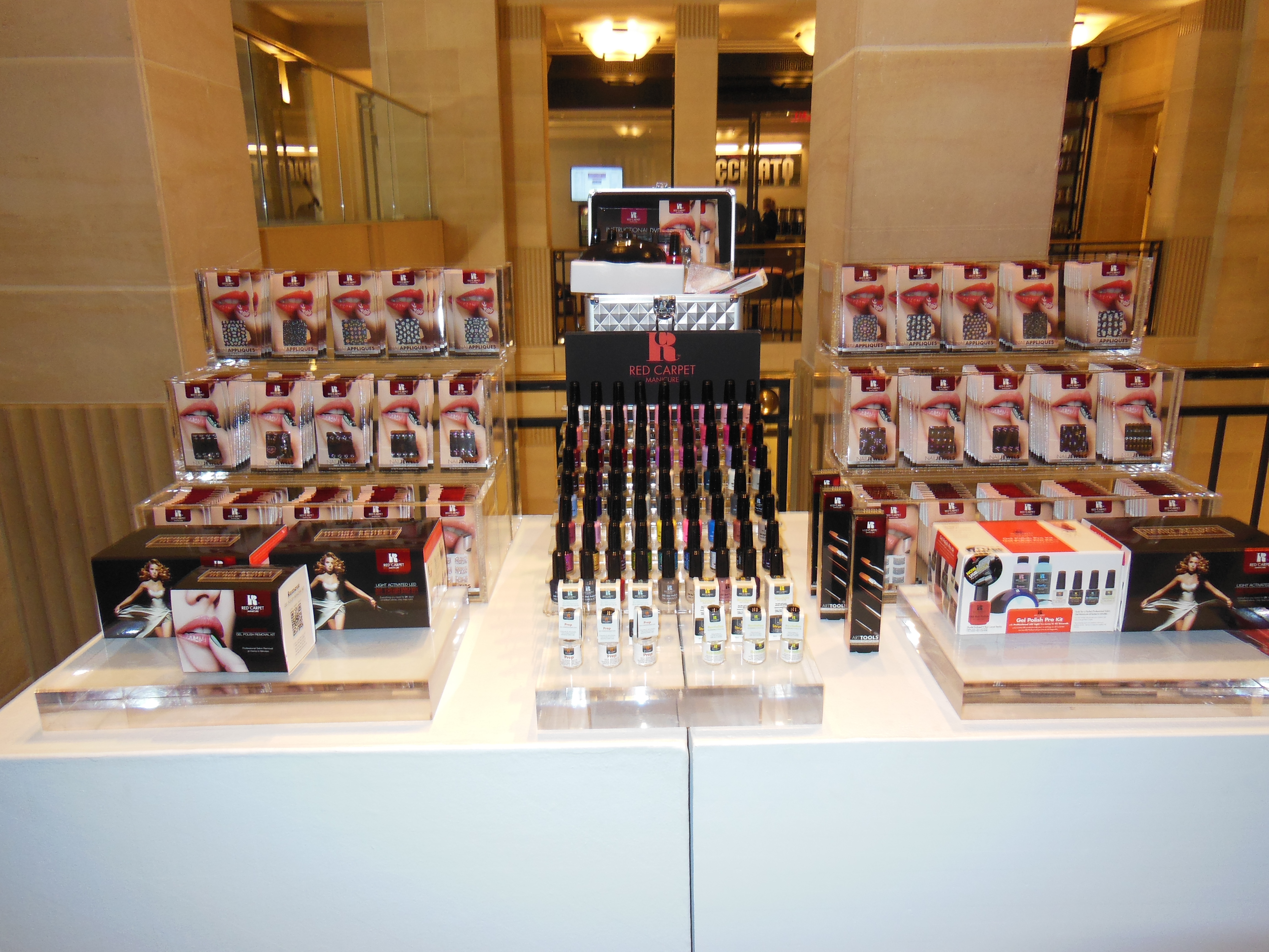 52a917ba9ef Red Carpet Manicure Unveils Holiday Pop-Up Shop At Henri Bendel ...