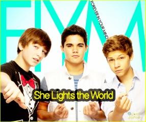 She Lights The World