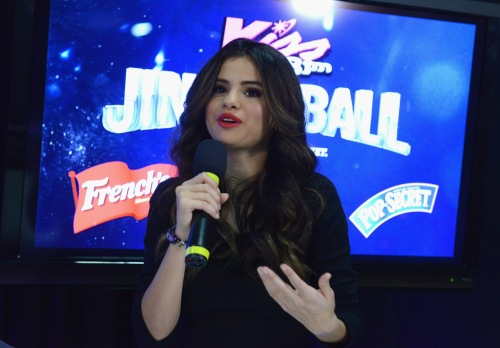 Selena Gomez, KISS 108's Jingle Ball 2013 - Backstage