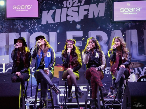 Fifth Harmony, 102.7 KIIS FM's Jingle Ball Village Performance