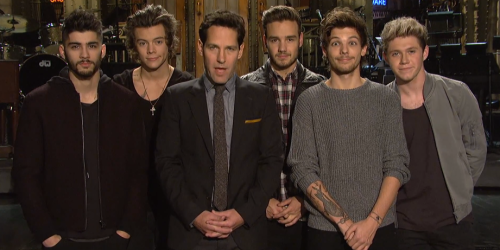 One Direction, 'SNL' Promo Spots With Paul Rudd
