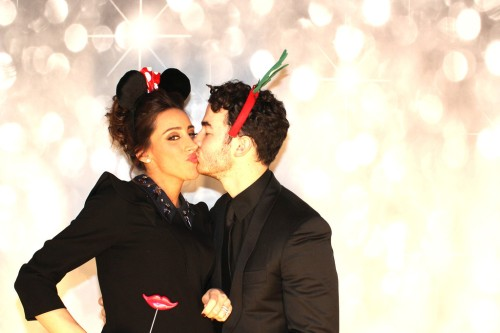 Kevin + Danielle Jonas Get Silly, Share A Smooch Or Two, In Photo ...