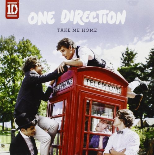 One Direction, 'Take Me Home' Album Cover