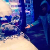 @papajonas: Asked her to dance but she was as cold as ice #GaylordTexan