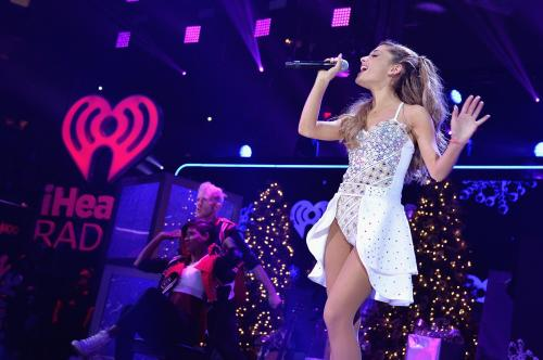 Ariana Grande, Z100's Jingle Ball 2013 In NYC - Show