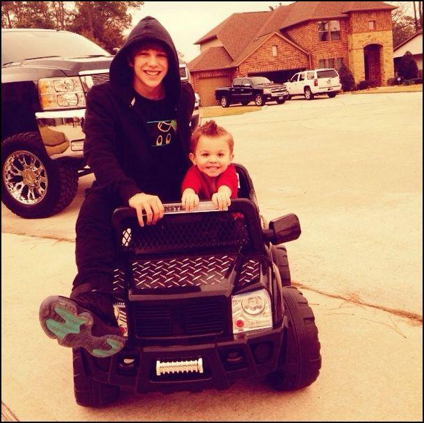Austin Mahone With My Future Car A Lambhini 3 Its Looks Really Small Next To Him Lol