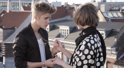 Justin Bieber, 'The Key' BTS