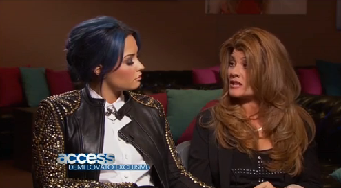 Demi Lovato + Her Mother On 'Access Hollywood'