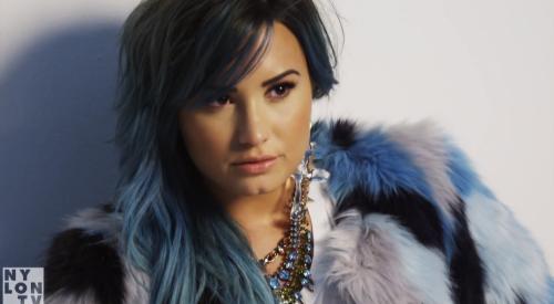 Demi Lovato, BTS 'Nylon' Cover Shoot