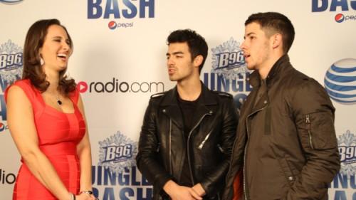 Joe Jonas + Nick Jonas At B96 Pepsi Jingle Bash - Interview