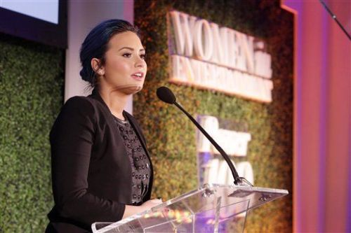 Demi Lovato, 'The Hollywood Reporter's' Women In Entertainment Breakfast