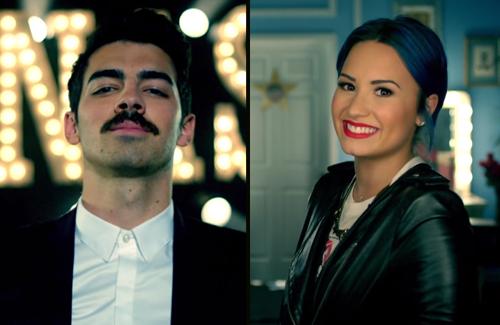 Joe Jonas + Demi Lovato, We Day Ad