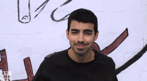 Joe Jonas, BTS 'NYLON Guys' Shoot
