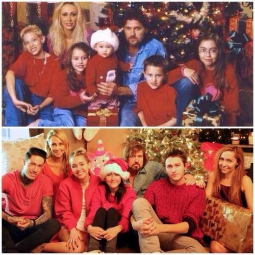 Miley Cyrus Christmas Then And Now