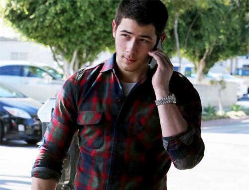 Nick Jonas, Dec. 10, 2013