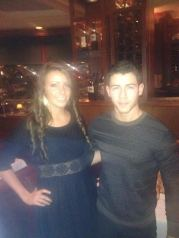 Nick Jonas + fan in RI
