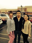 Nick Jonas with fans in RI