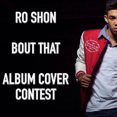Roshon Fegan Album Cover Contest