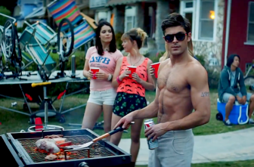 Zac Efron, 'Neighbors' Trailer