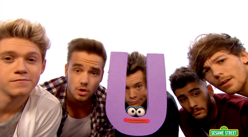 One Direction, 'Sesame Street'