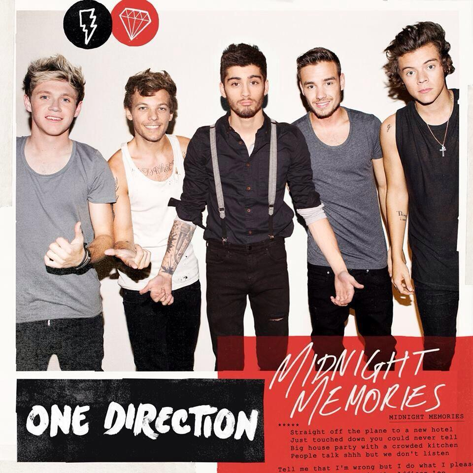 "One Direction Names ""Midnight Memories"" Next Single — See ... One Direction Names In Words"