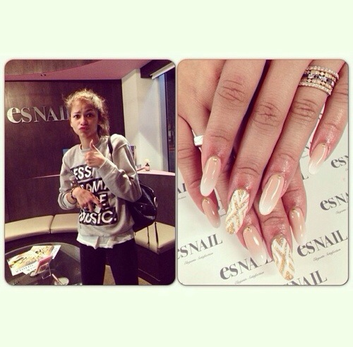 Check out Zendaya s stiletto Zendaya Nails 2014