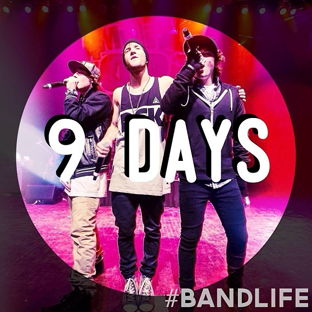 emblem3 nine days until their bandlife tour emblemthree