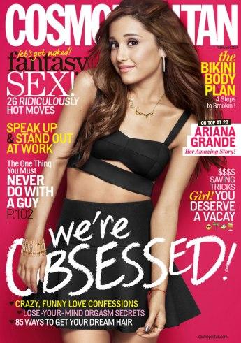 Ariana Grande, 'Cosmopolitan' Magazine Cover - Feb 2014 Issue