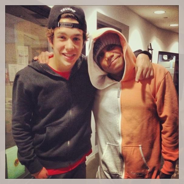 "With Chris ""Maxwell"" Jones"