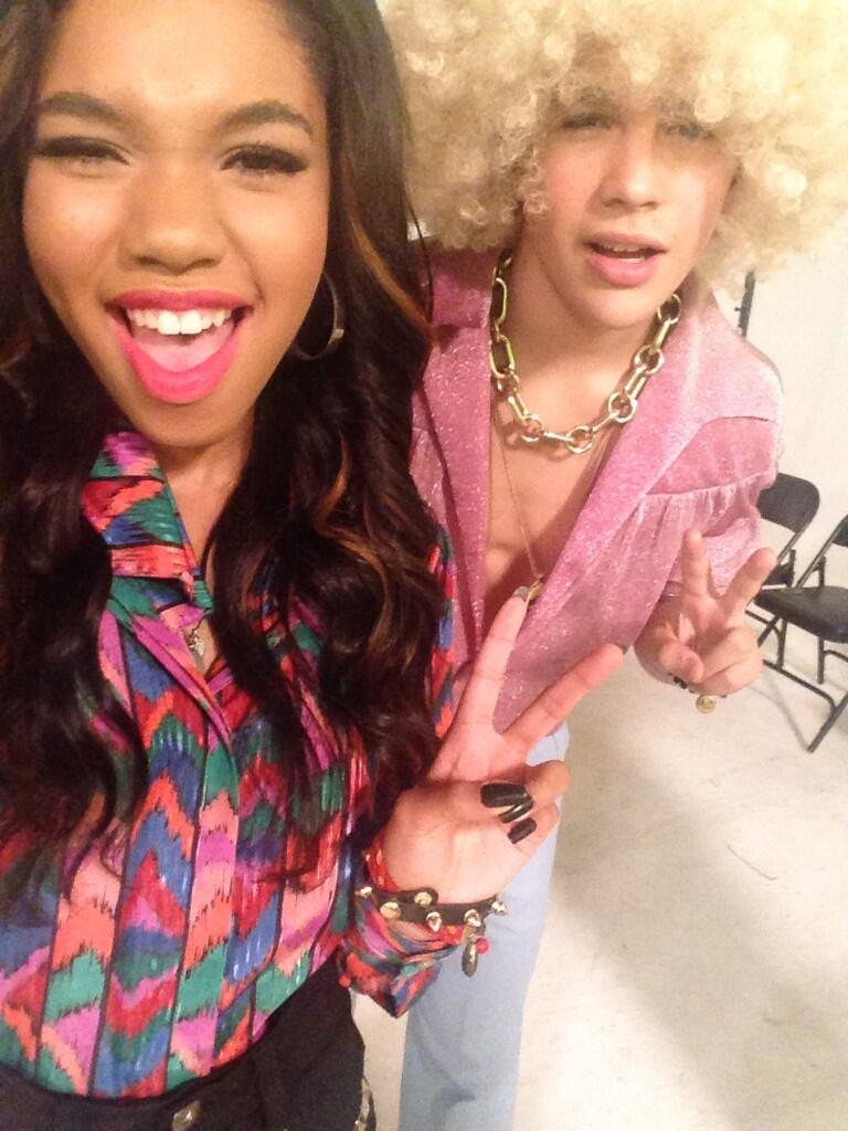 austin mahone some famous friends go back to the 70s for