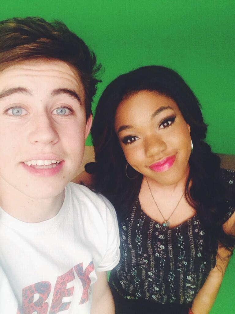 Is nash grier dating teala dunn