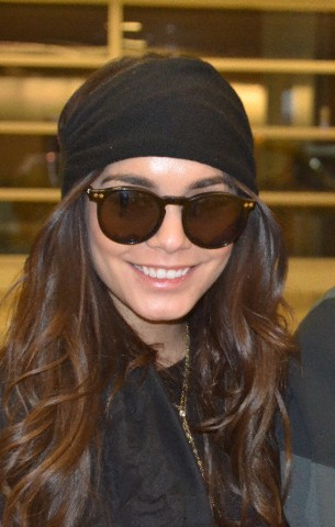 Vanessa Hudgens arrives in Washington, DC for a screening of 'Gimme Shelter'