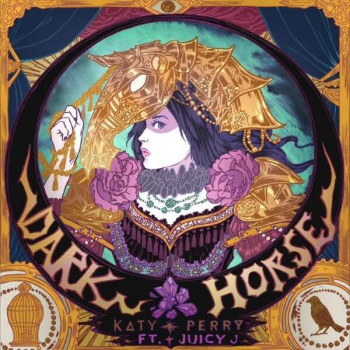 "Katy Perry, ""Dark Horse"" Single Cover"
