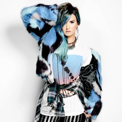 Demi Lovato in 'NYLON'