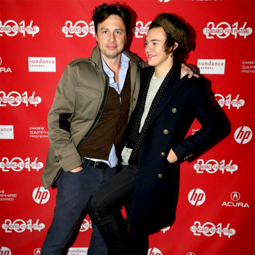 Harry Styles + Zach Braff