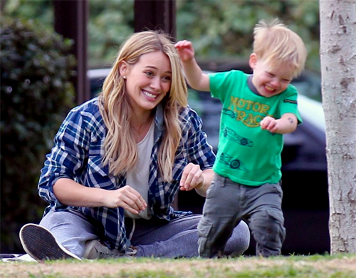 Hilary Duff + Luca Comrie