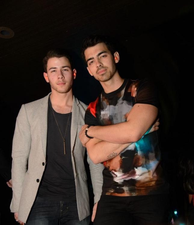 Nick + Joe at Hakkasan NIghtclub - 1/18