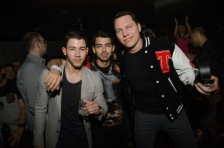 Nick, Joe + Tiësto at Hakkasan NIghtclub - 1/18
