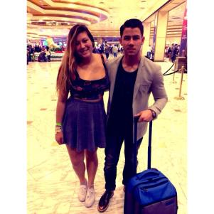 Nick Jonas arrives in Las Vegas - 1/18