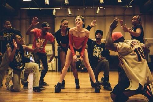 Miley Cyrus Bangerz Rehearsals 2