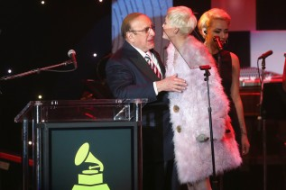 With Clive Davis