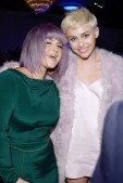 With Kelly Osbourne