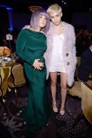 With Kelly Osbourne